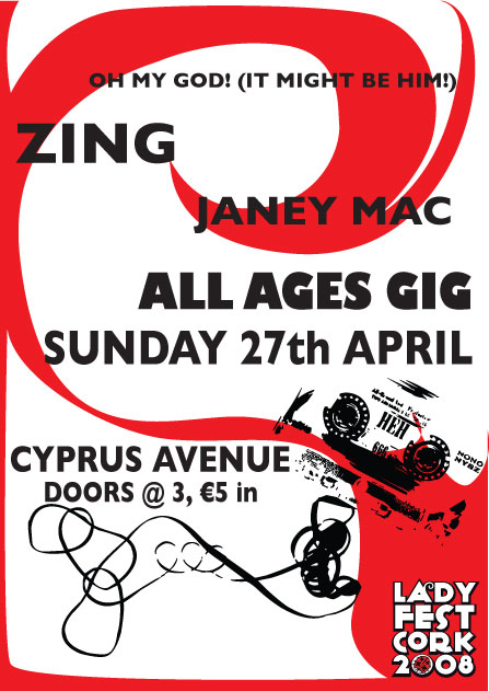 All ages gig poster