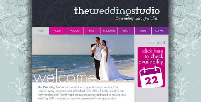 The Wedding Studio Home Page