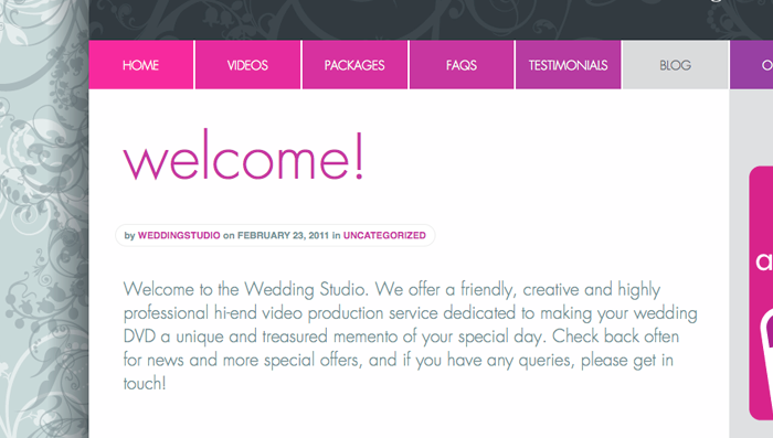 The Wedding Studio Blog